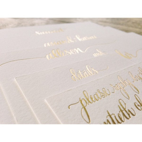 Gold_foil_letterpress_wedding_invitation_by_Reverie_Events